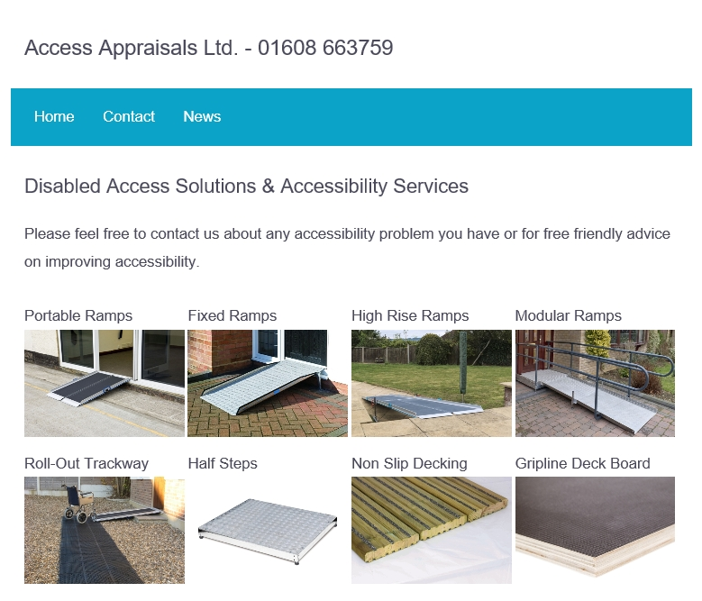 Access Appraisals Website