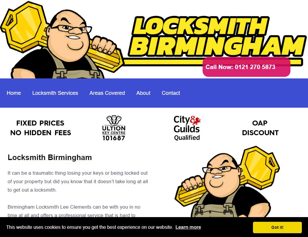 Local Locksmiths Near Me Birmingham