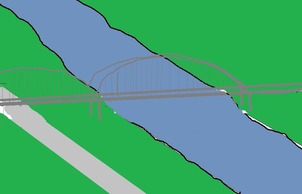Stunning New Bridge Over River Avon Stratford-upon-Avon