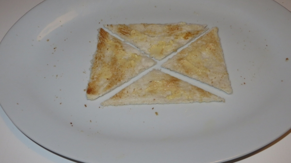How to Slice Toast