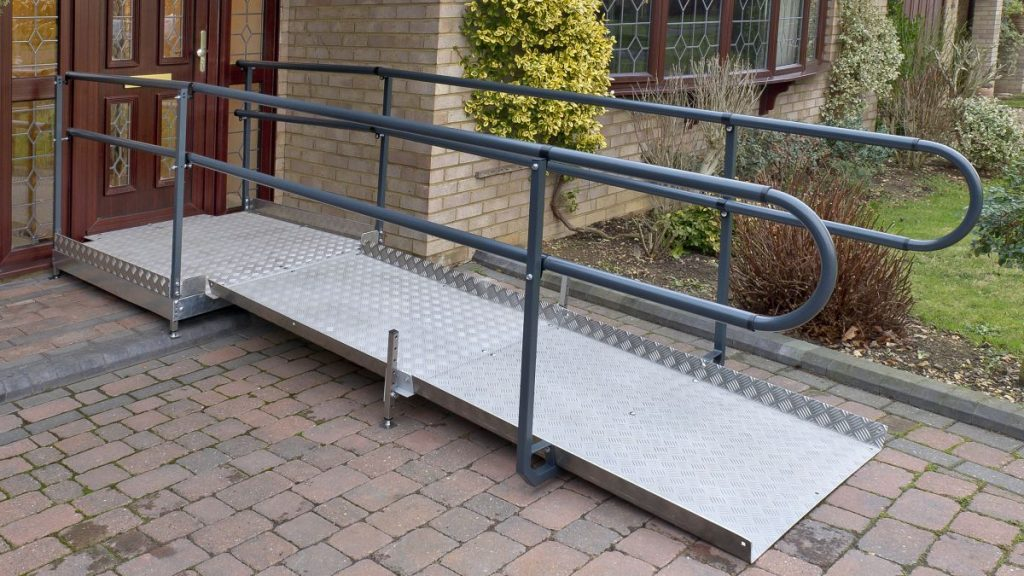 Wheelchair ramp installers